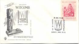 GALERIA WITCOMB GALERIA DE ARTE CENTESIMO ANIVERSARIO 1868-1968 PREMIO RARISIMA TARJETA