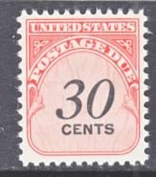 U.S. J 98   ** - Postage Due