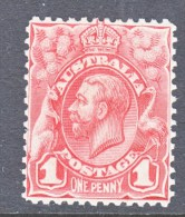 AUSTRALIA   17  Perf 11   *    No Wmk   1913/14 Issue - 1913-36 George V: Heads