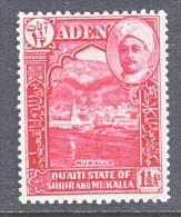 ADEN  SHIR  4  * - Aden (1854-1963)