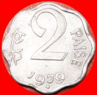 § RARE: INDIA ★ 2 PAISE 1979! MINT LUSTER! LOW START ★ NO RESERVE! - India
