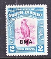 NORTH BORNEO  209  (o)  BIRDS  COCKATOO - North Borneo (...-1963)