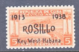 CUBA  C 30  * - Airmail