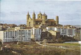 Z1012 - POSTAL - ALCAÑIZ - TERUEL - PANORAMICA Y COLEGIATA DE SANTA MARIA LA MAYOR - Teruel