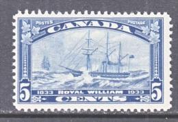 CANADA  204   *   SAILING  SHIP - Unused Stamps