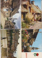 17 CPM TOUS TYPES DE MAISONS - Cartes Postales