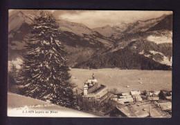 CP, SUISSE 1919, LEYSIN EN HIVER, MARQUE A DISTRIBUER. (6AL251) - VD Vaud