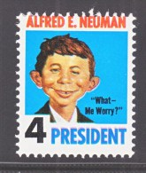 MAD  COMICS  ALFRED  E.  NEUMAN  FOR  PRESIDENT   ** - United States