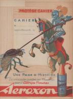 Protège Cahier -  Attrape Mouches AEROXON - Chevalier - Buvards, Protège-cahiers Illustrés