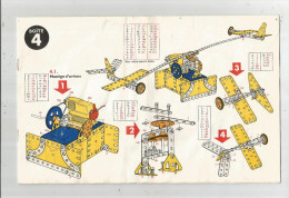 G-I-E , CATALOGUE DE MONTAGE MECCANO , Boite N° 4 , 16 Pages , Frais Fr : 2.45€ - Meccano