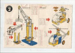 G-I-E , CATALOGUE DE MONTAGE MECCANO , Boite N° 2 , 10 Pages , Frais Fr : 2.45€ - Technical Plans