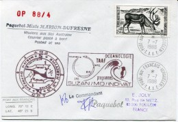 PORT AUX FRANCAIS KERGUELEN Env. Du 07/07/1988 Avec N° 126 - French Southern And Antarctic Territories (TAAF)