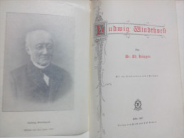 LUDWIG WINDTHORST Von Dr. Ed. HÜSGEN KÖLN 1907 - Mit 154 Illustrationen  In 2 Beilagen ALT DEUTSCH - Biographies & Mémoires