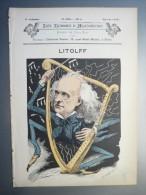 Les Hommes D´aujourd´hui N°255 Litolff Dessin Coll-Toc + Reproduction  Autographe - Old Paper