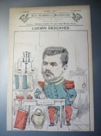 Les Hommes D´aujourd´hui N°267 Lucien Descaves Dessin De H.Reboul - Old Paper