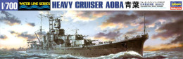 Japanese Heavy Cruiser Aoba 1/700 ( Hasegawa ) - Boats