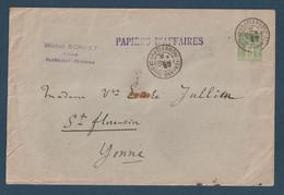 Lettre, Papiers D'Affaires, Pour St Florentin Le 24 Janv 1901 - 1877-1920: Période Semi Moderne