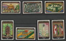 TP DE LA REPUBLIQUE DU BURUNDI  N° 373 à 379  NEUFS SANS CHARNIERE - 1970-79: Ungebraucht