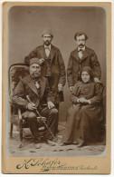 Real Photo On Cardboard Armenians ? Photo K. Schafer Ravensburg Germany Size 11 By 16,50 - Armenia