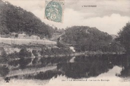 Cp , 63 , LA BOURBOULE , Le Lac Du Barrage - La Bourboule