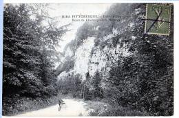 Champagnole (Jura)  Route De Nozeroy, Défilé  D'Entreportes. - Champagnole