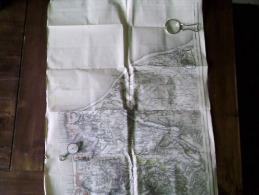 BOULOGNE  .N. E . CALAIS  Carte Topographique De 1889 N° 3/2 - Topographical Maps
