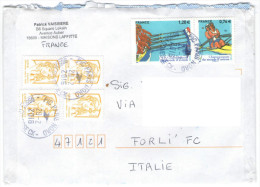 FRANCIA - France - 2016 - Championnat Du Monde D'aviron 2015 + 4 X 0,01 - Viaggiata Da Maisons Laffitte Per Forlì, Italy - France