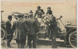 Sisowath  Roi Du Cambodge  In  Nancy July 1906 King In His Car - Cambodge