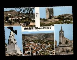 01 - AMBERIEU-EN-BUGEY - Train - Locomotive - France