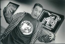 MTV Music Television Ancienne Photo Jan Van Der Perre 1980 - Berühmtheiten