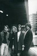 Belgique Acteurs Groupe Portrait Robbe De Hert Ancienne Photo Gerrit Op De Beeck 1980