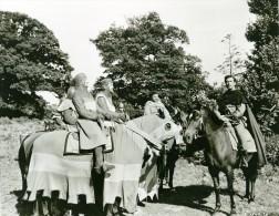 Ivanhoe Robert Taylor Cinema Chevalerie Chevaux Medieval Ancienne Photo De Film 1952 - Photographs