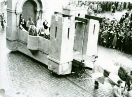 France Lille Grand Cortege Historique Medieval Adele De France Ancienne Photo Echo Du Nord 1932 - Places