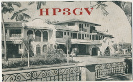 Hotel Nacional David Panama Used 2 Nice Stamps 1951 To Central Washington Sugar Mill Cuba Airmail - Panama