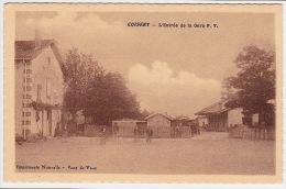 CUISERY .... L´ ENTREE DE LA GARE P. V. - France