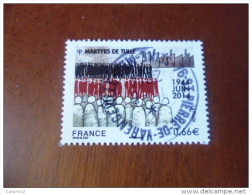 OBLITERATION RONDE  SUR TIMBRE GOMME ORIGINE YVERT N° 4865 - Used Stamps