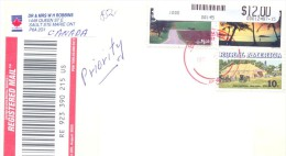 2013.USA, The Letter By Registered Post To Moldova - Vereinigte Staaten