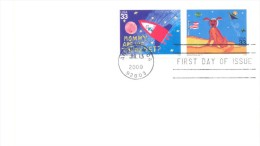 2000.USA, The Letter By Ordinary Post To Moldova - Vereinigte Staaten