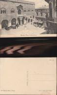 4480) TREVISO PIAZZA INDIPENDENZA NON VIAGGIATA 1930 CIRCA ANIMATA AUTO FURGONI - Treviso