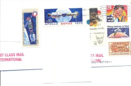 2014.USA, Space, The Letter By First-class Mail Post To Moldova - Vereinigte Staaten