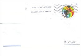 2015.USA,  The Letter By Ordinary Post To Moldova - Vereinigte Staaten