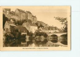 PESMES - Le Village Et L' Ognon - 2 Scans - Pesmes