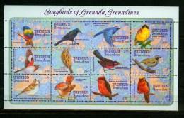 Grenada/Grenadines 1993,12V In  Sheetlet,birds,vogels,vögel,oiseaux,pajaros,uccelli,aves,MNH/Postfris(L2242) - Vogels
