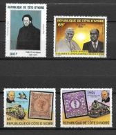 Cote Ivoire 504 507 538 628** - Ivory Coast (1960-...)