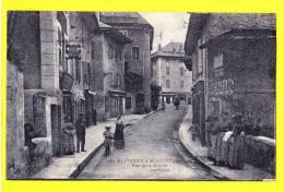* Saint Pierre D'Albigny (Dép 73 - Savoie - France) * (X. Goutagny, Nr 442) Rue De La Mairie, Animée, Rare, Old, CPA - Saint Pierre D'Albigny