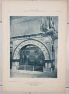 Pavillon De La Société SOLVAY  Exposition Internationale De Bruxelles 1897 L'Emulation  Organe D'Architecture Belgique - Architektur