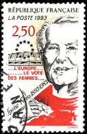 FRANCE  1993  -  Y&T  2809 - Louise Weiss  Vote Des Femmes  -  Oblitéré - Used Stamps