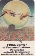TARJETA DE ALEMANIA DE UN FUBA CARRIER (PLANETA-PLANET) DE TIRADA 2000 (PINTURA-PAINTING) - Astronomy