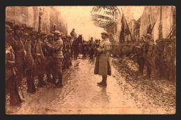 MILITARIA WWI CONDECORATION AFTER VERDUN  Vintage Original POSTCARD CPA AK (W4_2156) - Guerra 1914-18