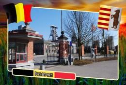 Postcard, Municipalities Of Belgium, Beringen, Flemish Region - Mapas